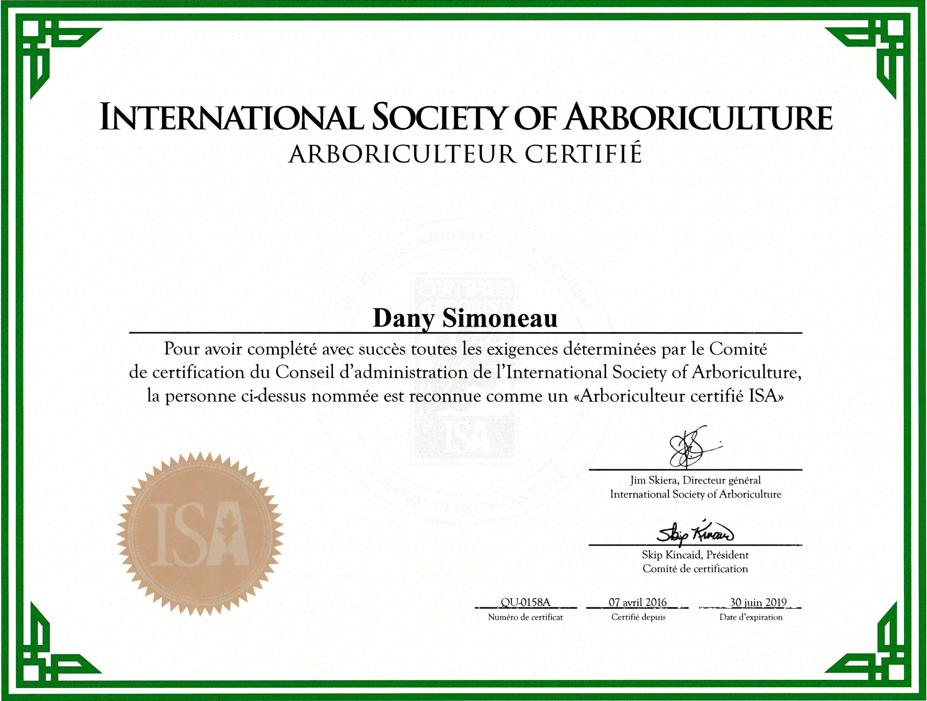 Pourquoi Nous Exprience Certification Diplme Assurance